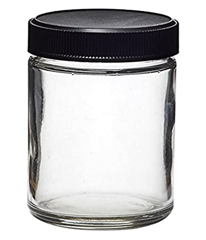 Amazoncom Glass Quarter Ounce Cannabis Jar Air Tight and Smell