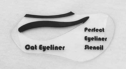 image regarding Eyeliner Stencil Printable identified as The Suitable Eyeliner Stencil: Amazon.within: Household Kitchen area