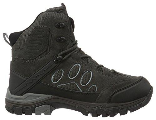 Jack Wolfskin Herre Impuls Texapore O2 + Mid M Trekking- & Wanderstiefel Grå (asfalt Grå) mbptVd