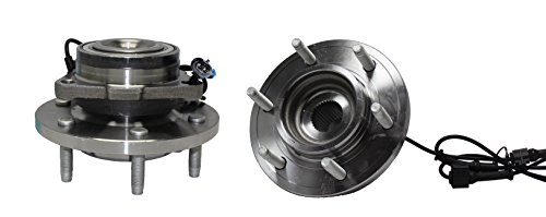 Detroit Axle - Brand New (Both) Front Wheel Hub and Bearing Assembly For - 2006-2010 Hummer H3 - [2009-2010 Hummer H3T]