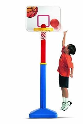 616068 Little Tikes Adjust N Jam Basketball Set