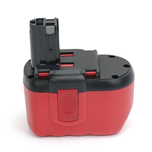 (PowerGiant 24V 2.0Ah NiCd Extended Battery for Bosch BAT030 BAT031 BAT240 BAT299 B-8230 BH-2424)