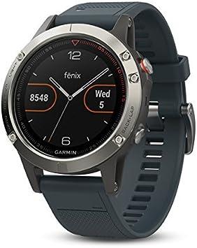 Garmin Fenix 5 - Reloj multideporte con GPS y medidor de ...