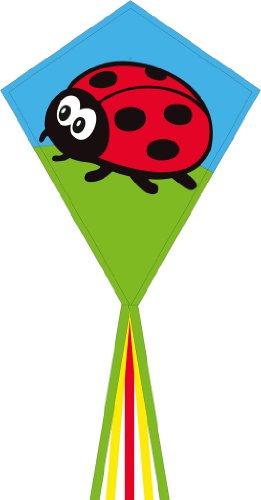 """HQ Kites Eddy Ladybug 28""""Diamond Kite"""