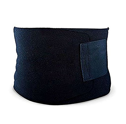 Premium Waist Trimmer Belt, Slim Body Sweat Wrap for Stomach and Back Lumbar Support