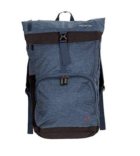 All of Us Cruiser Lightweight Unisex Travel Laptop Backpack Hiking Bag - Navy - Cruiser Travel