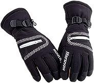 Waterproof Warm Unisex Hockey Gloves Winter Outdoor Sport Mountain Skiing Snowboard Gloves