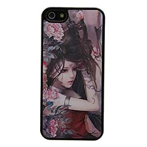 LIMME Fantasy Lady 3D Changing Pattern Protective Plastic Hard Back Case Cover for iPhone 5/5S