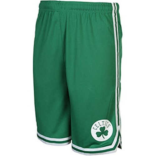 Youth Boston Celtics New Green Replica Basketball Shorts by Outer Stuff (M=10-12)