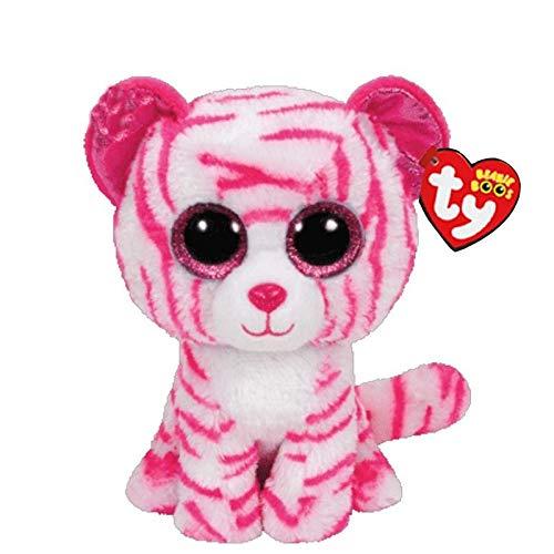 WATOP Stuffed Animals - Unicorn | ty Beanie boos Cute owl Monkey Unicorn Plush Toy Doll Stuffed & Plush Animals(Pink Tiger-)