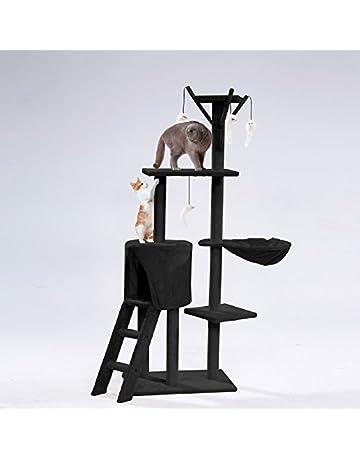 Sohler By Eurotrade W Árbol de Actividades/Rascador para Gatos. Juguete para Mascotas.