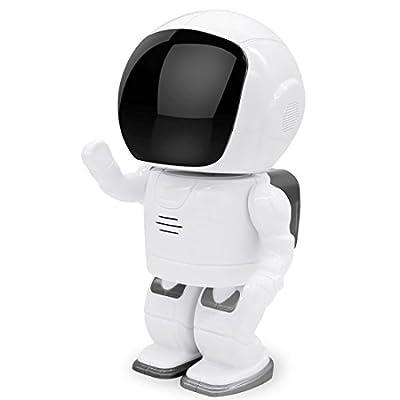 Mini Robot Home Security Surveillance WiFi Camera Wireless IP Camera 001