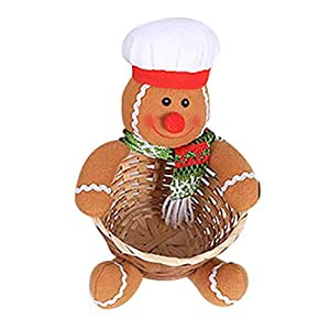 istary 2018 Decoración navideña grandes tamaños Nueva nette dulces estantes cesta cesta pantalla vacaciones regalo Festival juguete Memoria requisitos ...