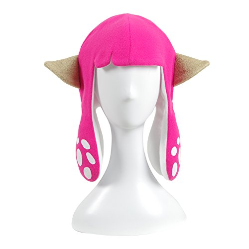 YSFZ Inkling Squid Cosplay Hats Funny Balaclava Party Carnival Halloween Costumes accessories Headwear Gift For Adult Kids for $<!--$19.88-->