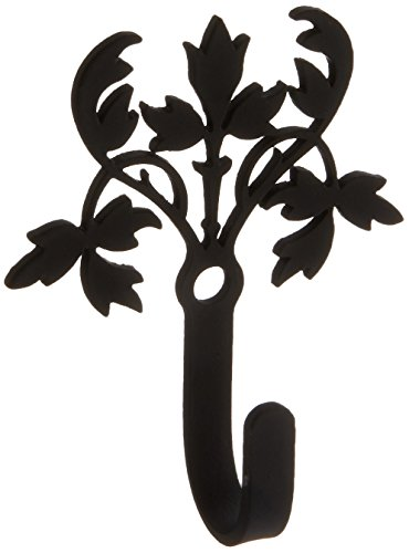 2.5 Inch Floral Wall Hook Extra Small