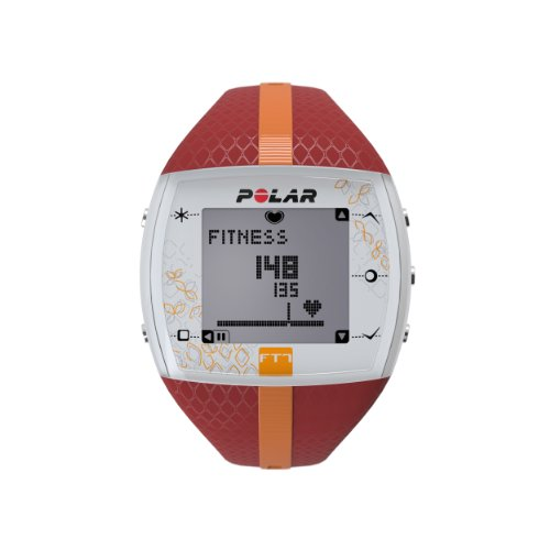 Polar USA Unisex FT7F  Red/Orange Watch