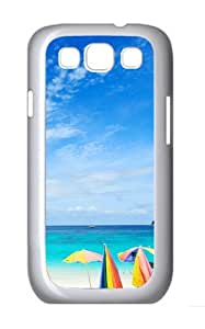 Morning Sea Polycarbonate Hard Shell Case Cover for Samsung Galaxy S3 / SIII/ I9300 - White