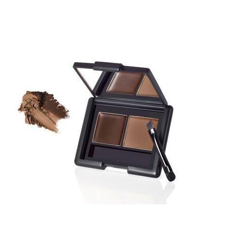 e.l.f. Studio Eyebrow Kit MEDIUM Eye Brow Makeup Brush Mirror Girly ELF Fun Sexy - E L F Makeup Kit