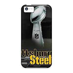 For Iphone 5c Phone Cases Covers(pittsburgh Steelers)