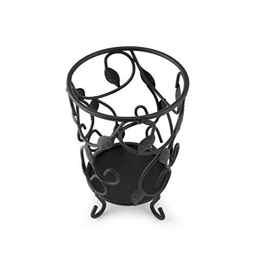 Pfaltzgraff Basics Wire Utensil Holder, 5.5-Inch-by-7-Inch, Black