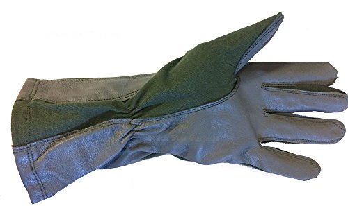 NEW MILITARY ISSUE NOMEX SUMMER FLYER'S GLOVES GS/FRP-2 SAGE GREEN (11) (Nomex Military Flyers)