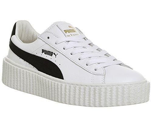 Patent X Puma Creeper Wrinkled Donna Sneaker Fenty Rihanna Nero wqfAOq