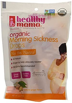 Healthy Mama Nip The Nausea Organic Morning Sickness Drops, 24 Count (Pack of 6) by Healthy Mama
