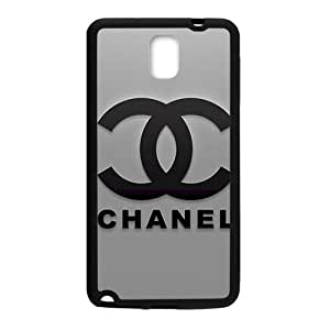 Famous brand logo Chanel design fashion cell phone case for samsung galaxy note3
