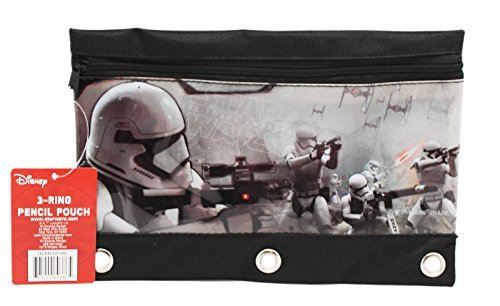 Star Wars The Force Awakens Storm Trooper Battle Pencil Pouch