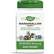 Marshmallow Root 480 Milligrams 100 Veg Capsules