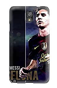 Awesome Bzfuqnu3221KdWKz DavidEr Defender Tpu Hard Case Cover For Galaxy Note 3- Lionel Messi Background Abstract