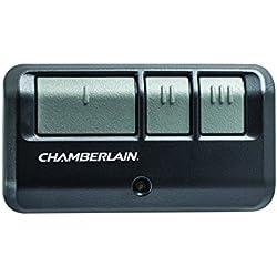 Chamberlain/LiftMaster / Craftsman 953EV-P2 3-Button Garage Door Opener Remote, Security +2.0 Compatible, Includes Visor Clip