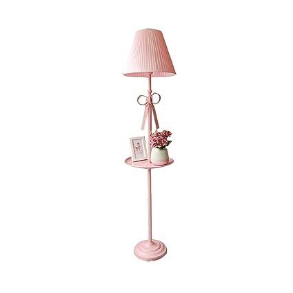 LQQFF Lámpara de pie Dormitorio habitación Infantil salón ...