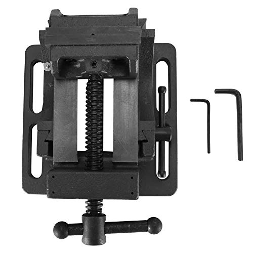 [해외]Tilting Vise Sturdy Durable Tilting Drill Press Vise 0-90° Tilt Heavy Duty Guide Rod Benches Clamp for Woodworking and Metalworking(3) / Tilting Vise, Sturdy Durable Tilting Drill Press Vise 0-90° Tilt Heavy Duty Guide Rod Benche...