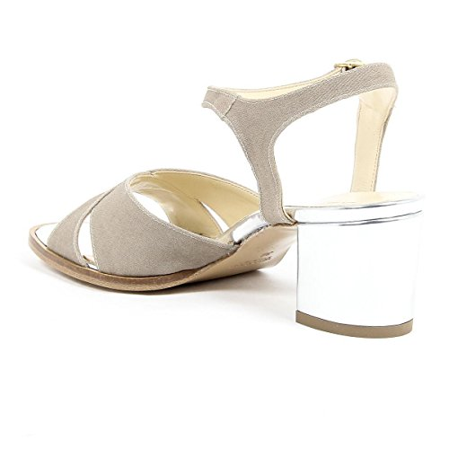 V 1969 Italia Womens Ankle Strap Sandal Beige VERA