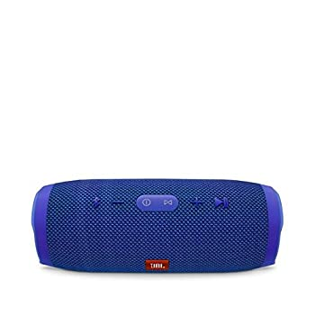 Jbl Charge 3 Waterproof Portable Bluetooth Speaker (Blue) 1