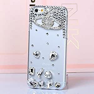 LCJ iPhone 6 Plus compatible Diamond Look Back Cover