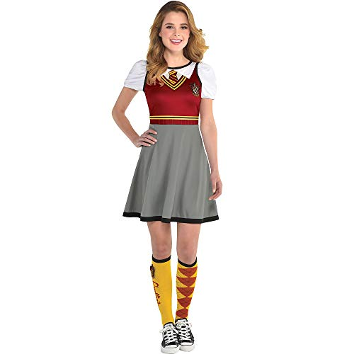Suit Yourself Gryffindor Dress for Women, Harry Potter Halloween Costume, Standard