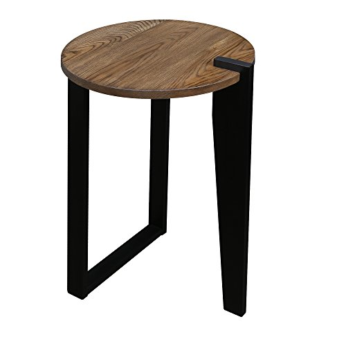 American Trails 604-423 Sundial Contemporary Round American Solid Oak End Table