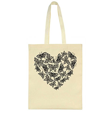Bag Of Of Bag Tiny Heart Tote Tote Heart Butterflies Made Made Butterflies Tiny 4nTwf7q7Sx