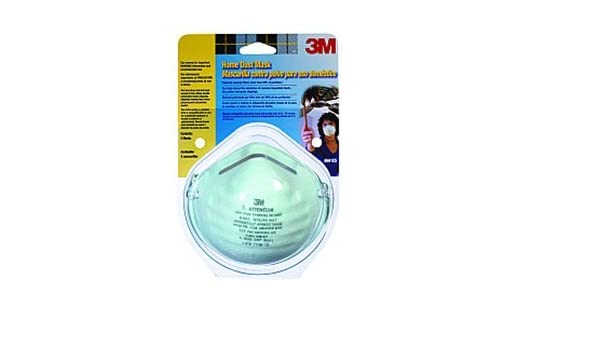 3m 8661pc1-a home dust mask