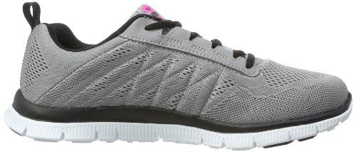 Skechers Sport Vrouwen Sweet Spot Mode Sneaker Licht Grijs / Zwart