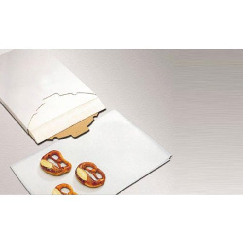 X500 Silicone Coated Parchment Paper Size: L 23 1/2'' x W 15 3/4''
