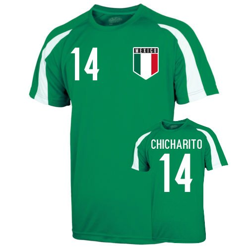 Mexico Sports Training Jersey (chicharito 14) B01MS06WIC Large (42-44