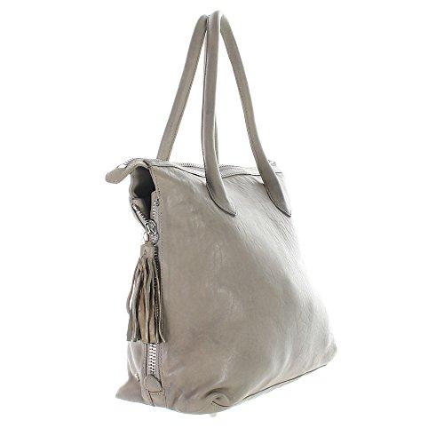 Another Bag, Borsa a mano donna beige talpa