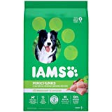 IAMS Adult Minichunks Dry Dog Food Chicken and Whole Grains Recipe 6.80kg (15LB) - 6.8KG