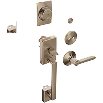 Schlage F93cen619lat Century Dummy Door Handleset With