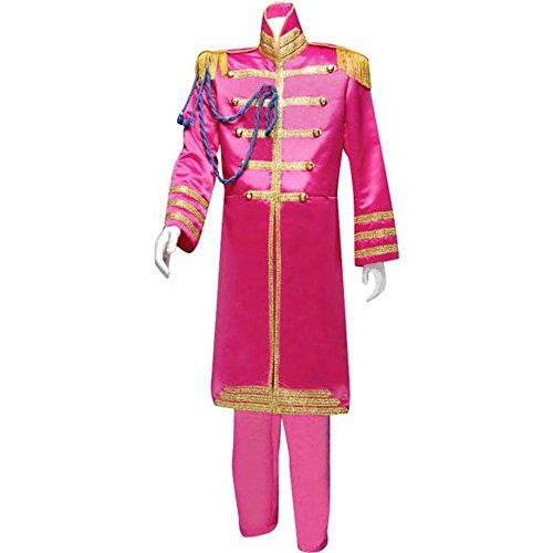 Men's Large Pink Beatles Sgt. Pepper's Costume (Sgt Pepper Costume)