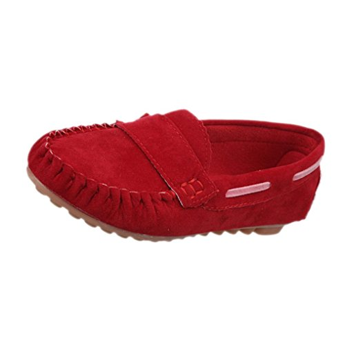 Amiley Women Comfort Slip-On Casual Leisure Soft Indoor Outdoor Sneaker Shoes Red fwv1MHM6Ab