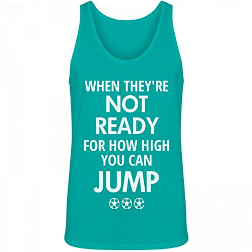 ie Ups: Unisex Canvas Jersey Tank Top (Swirl Soccer Goalie Jersey)